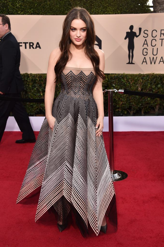 LOS ANGELES, CA - JANUARY 21:  Actor Odeya Rush attends the 24th Annual Screen Actors Guild Awards at The Shrine Auditorium on January 21, 2018 in Los Angeles, California. 27522_006  (Photo by Alberto E. Rodriguez/Getty Images)