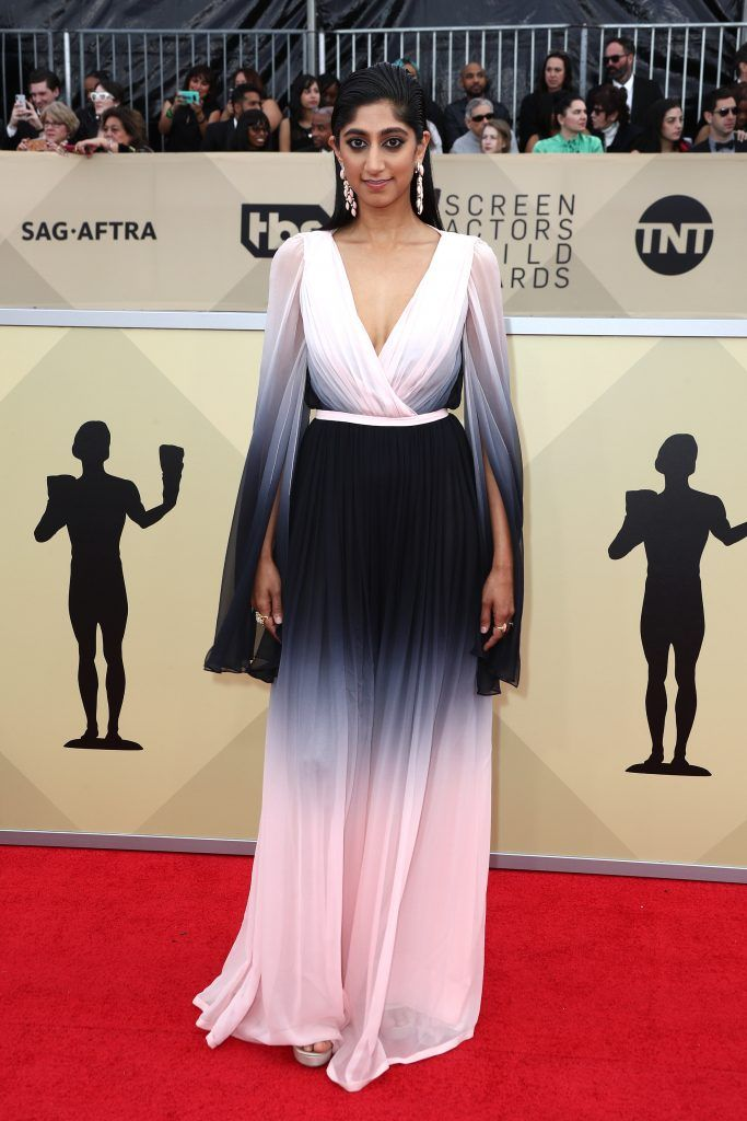 LOS ANGELES, CA - JANUARY 21:  Actor Sunita Mani attends the 24th Annual Screen Actors Guild Awards at The Shrine Auditorium on January 21, 2018 in Los Angeles, California. 27522_017  (Photo by Frederick M. Brown/Getty Images)