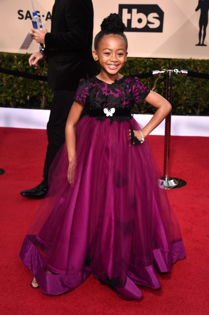 LOS ANGELES, CA - JANUARY 21: Actor Faithe C. Herman attends the 24th Annual Screen Actors Guild Awards at The Shrine Auditorium on January 21, 2018 in Los Angeles, California. 27522_006  (Photo by Alberto E. Rodriguez/Getty Images)