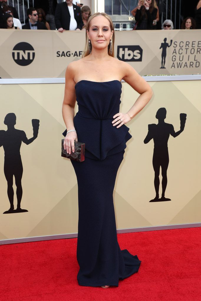 LOS ANGELES, CA - JANUARY 21:  Actor Kelly Karbacz attends the 24th Annual Screen Actors Guild Awards at The Shrine Auditorium on January 21, 2018 in Los Angeles, California. 27522_017  (Photo by Frederick M. Brown/Getty Images)