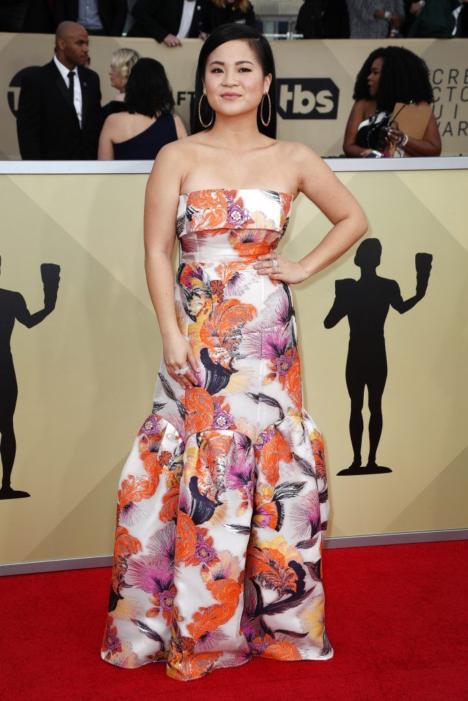 LOS ANGELES, CA - JANUARY 21: Actor Kelly Marie Tran attends the 24th Annual Screen Actors Guild Awards at The Shrine Auditorium on January 21, 2018 in Los Angeles, California. 27522_017  (Photo by Frederick M. Brown/Getty Images)