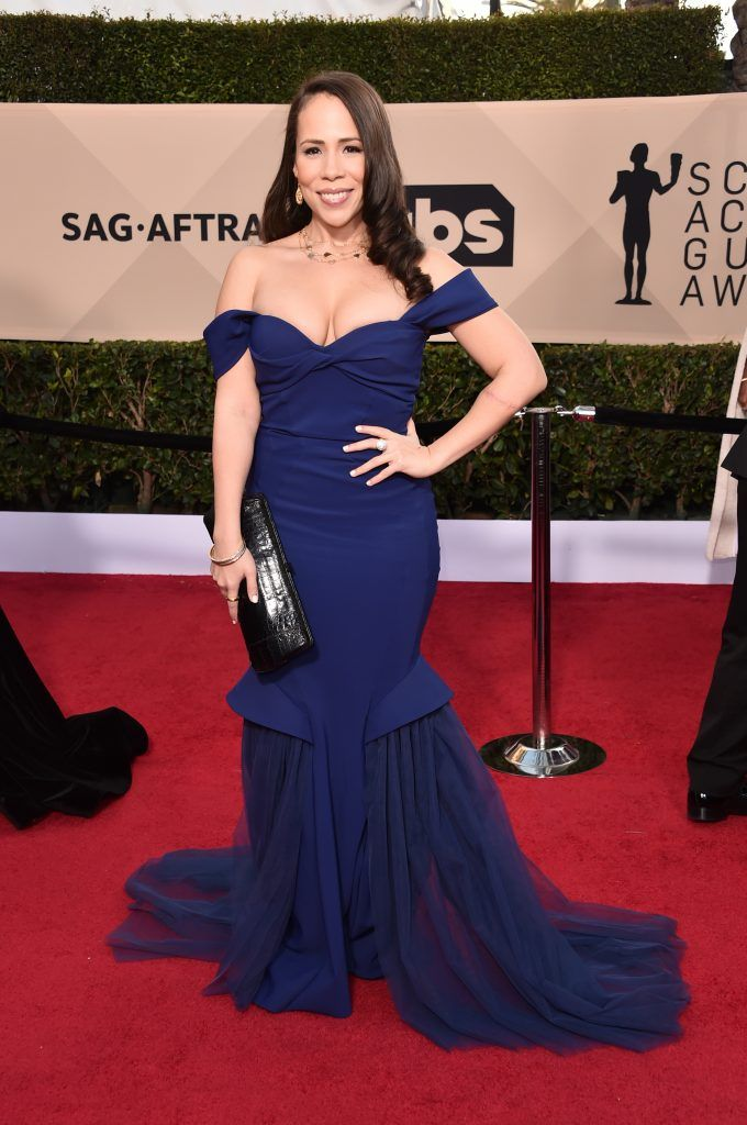 LOS ANGELES, CA - JANUARY 21:  Actor Rosal Colon attends the 24th Annual Screen Actors Guild Awards at The Shrine Auditorium on January 21, 2018 in Los Angeles, California. 27522_006  (Photo by Alberto E. Rodriguez/Getty Images)
