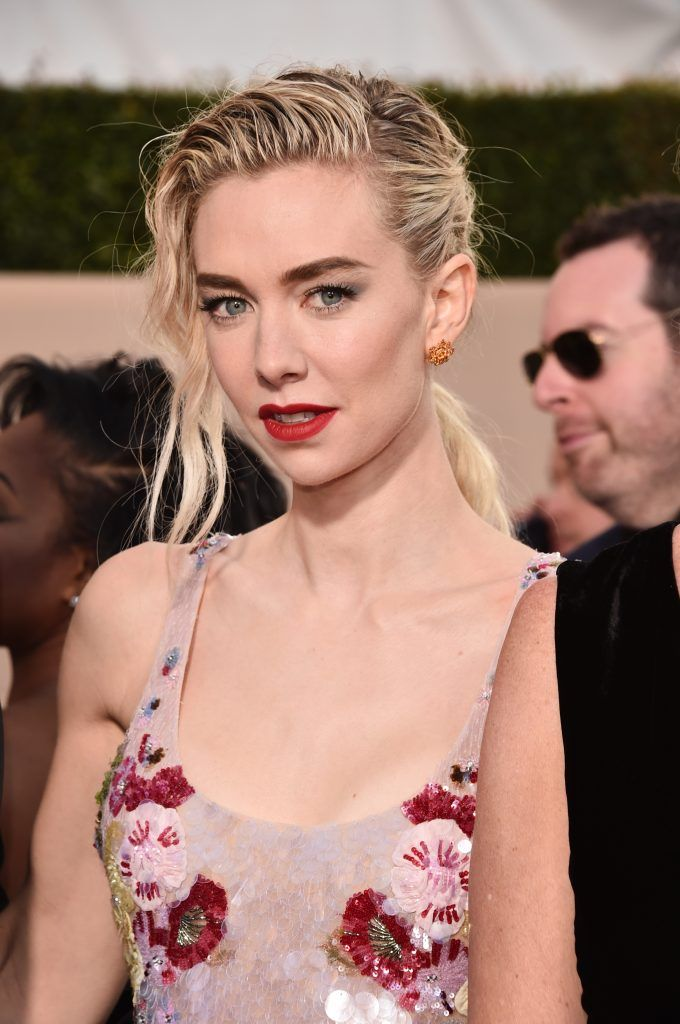 LOS ANGELES, CA - JANUARY 21: Actor Vanessa Kirby attends the 24th Annual Screen Actors Guild Awards at The Shrine Auditorium on January 21, 2018 in Los Angeles, California. 27522_006  (Photo by Alberto E. Rodriguez/Getty Images)