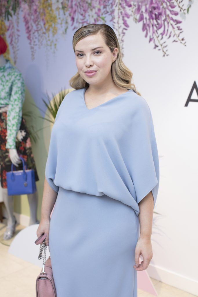 Séana Sweeney pictured at the launch of the Arnotts Spring/Summer '18 collection. Photo: Anthony Woods