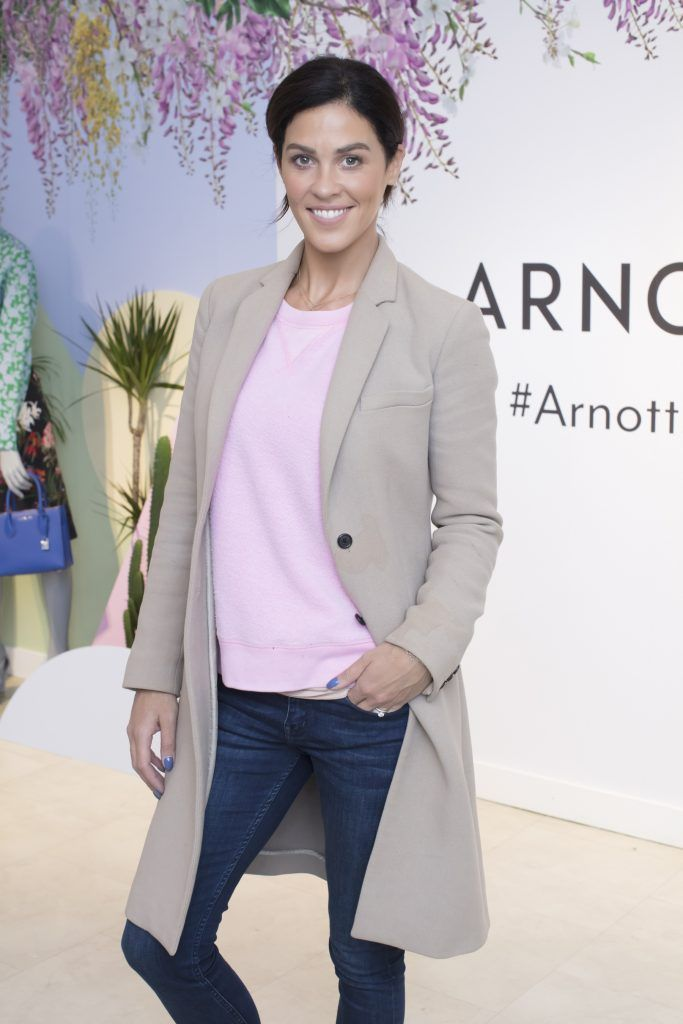 Glenda Gilson pictured at the launch of the Arnotts Spring/Summer '18 collection. Photo: Anthony Woods