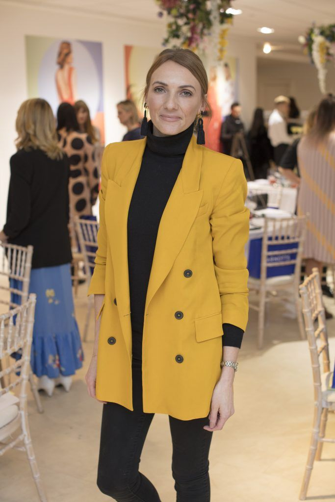 Ingrid Hoey pictured at the launch of the Arnotts Spring/Summer '18 collection. Photo: Anthony Woods