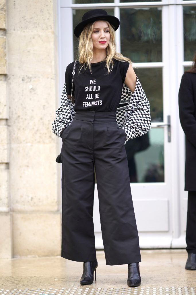 Annabelle Wallis attends the Christian Dior Haute Couture Spring Summer 2018 show as part of Paris Fashion Week on January 22, 2018 in Paris, France.  (Photo by Edward Berthelot/Getty Images for Christian Dior)
