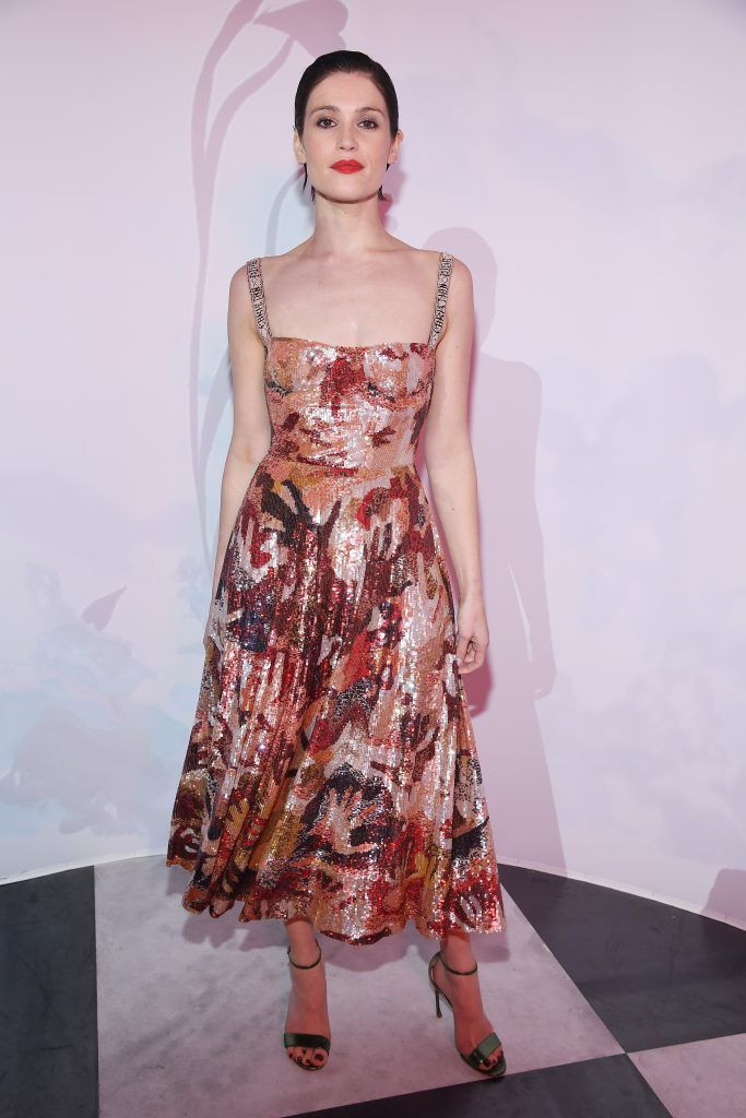 Gemma Arterton attends Le Bal Surrealiste Dior during Haute Couture Spring Summer 2018 show as part of Paris Fashion Week on January 22, 2018 in Paris, France.  (Photo by Pascal Le Segretain/Getty Images for Dior)