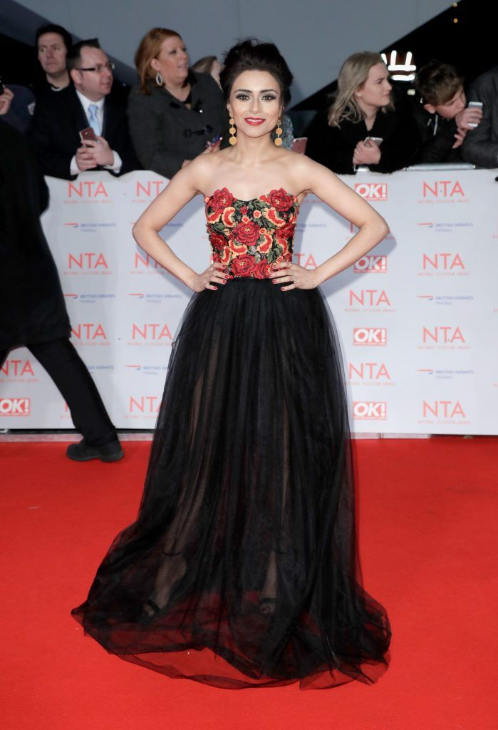 Bhavna Limbachia attends the National Television Awards 2018 at the O2 Arena on January 23, 2018 in London, England.  (Photo by John Phillips/Getty Images)