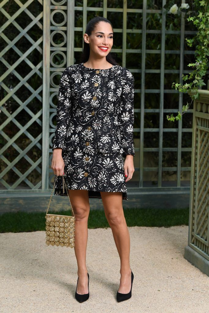 Audrey Gelman attends the Chanel Haute Couture Spring Summer 2018 show as part of Paris Fashion Week on January 23, 2018 in Paris, France.  (Photo by Pascal Le Segretain/Getty Images for Chanel)