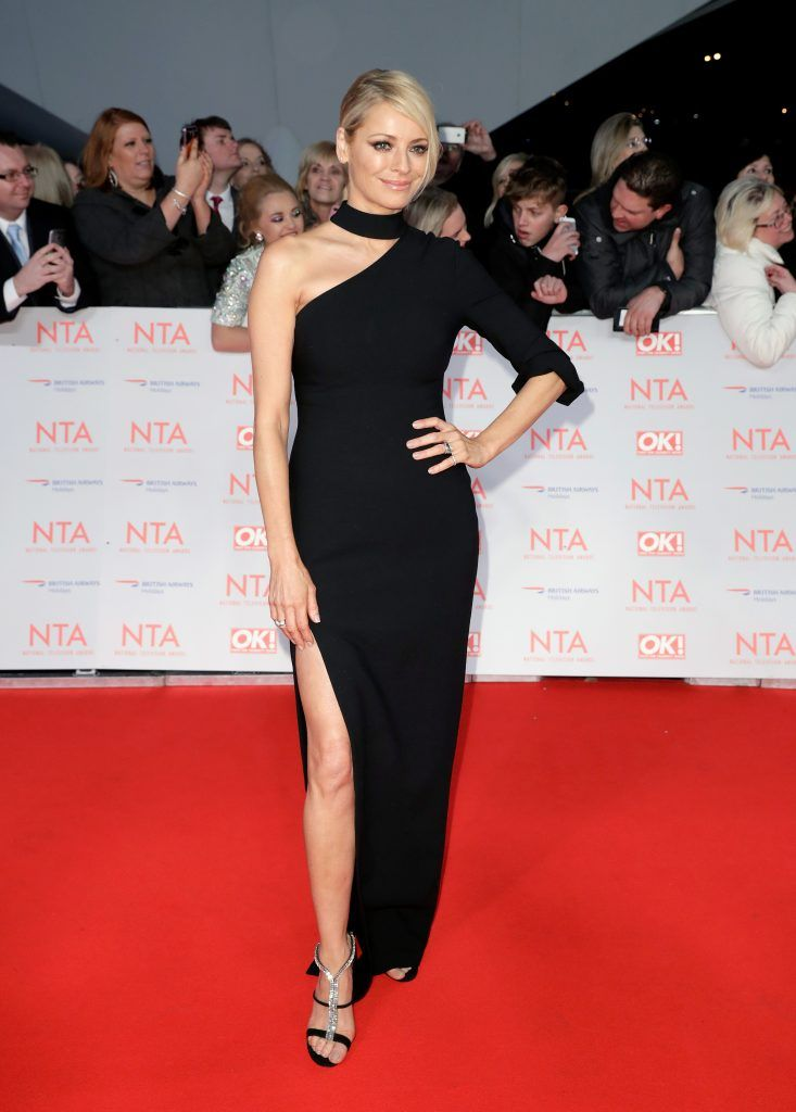 Tess Daly attends the National Television Awards 2018 at the O2 Arena on January 23, 2018 in London, England.  (Photo by John Phillips/Getty Images)