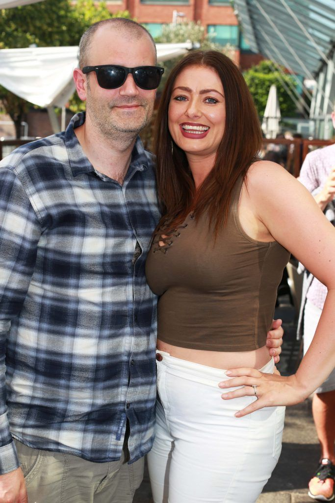 Ann Marie Dent, Paul Clarke at the Gin and Tonic Fest 2018 launch at Urban Brewing (23rd June)
