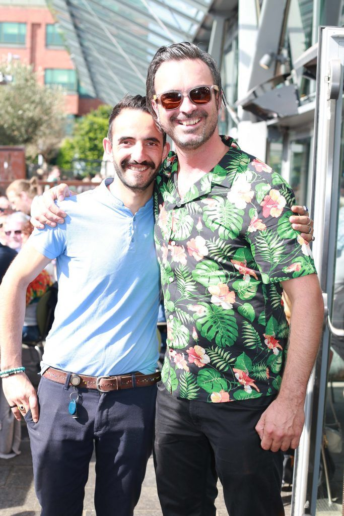 Achilles Vasileiou, Oisin Davis at the Gin and Tonic Fest 2018 launch at Urban Brewing (23rd June)