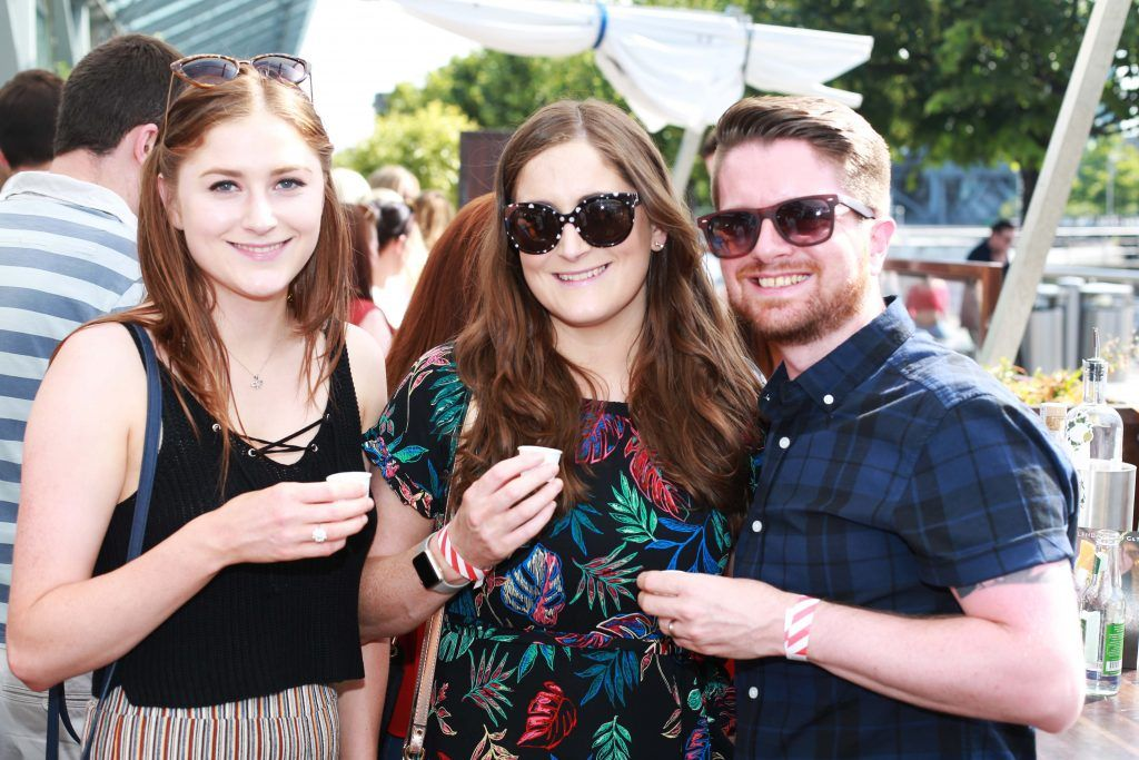Christina O'Connor, Sarah O'Connor, Andrew Gilbert Mannion at the Gin and Tonic Fest 2018 launch at Urban Brewing (23rd June)