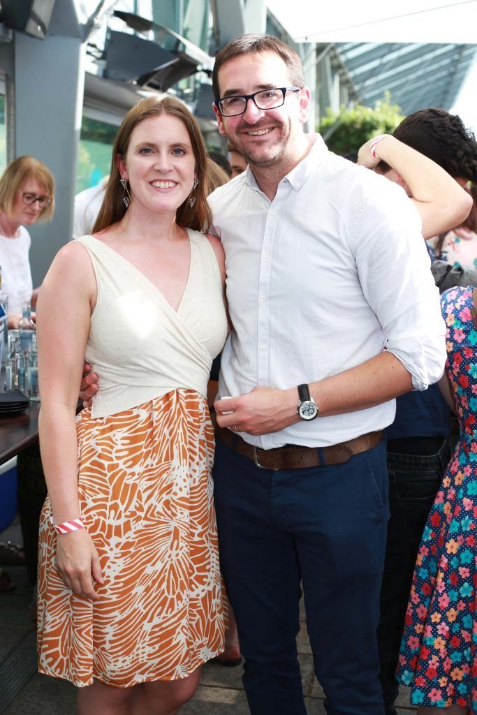 Christina Rothballer, Niall Carty at the Gin and Tonic Fest 2018 launch at Urban Brewing (23rd June)