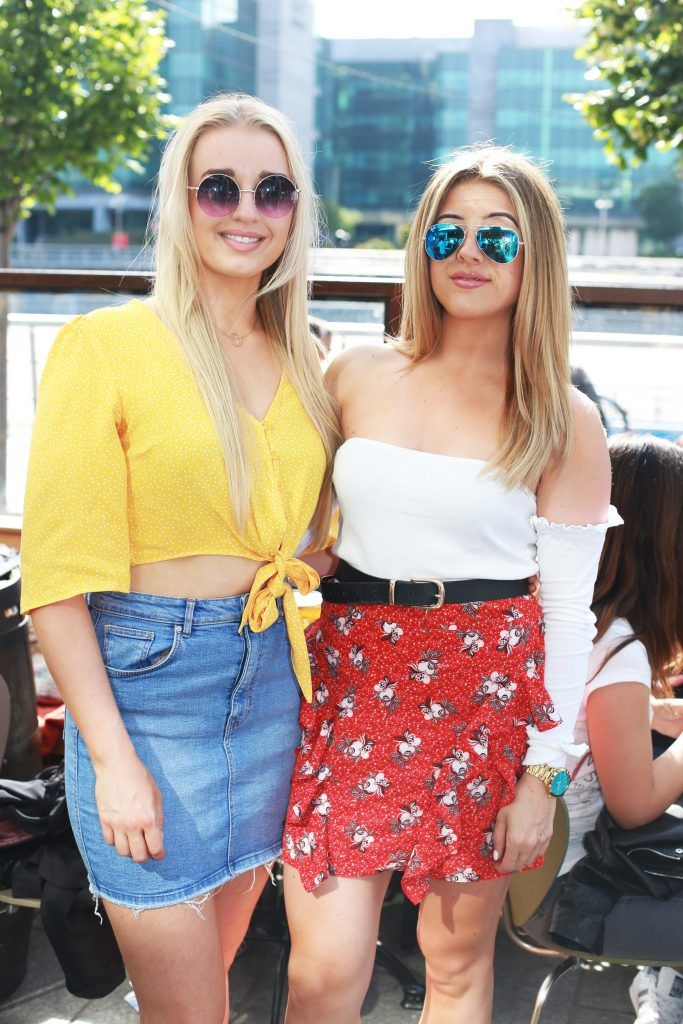 Clare Murphy, Katie Davis at the Gin and Tonic Fest 2018 launch at Urban Brewing (23rd June)