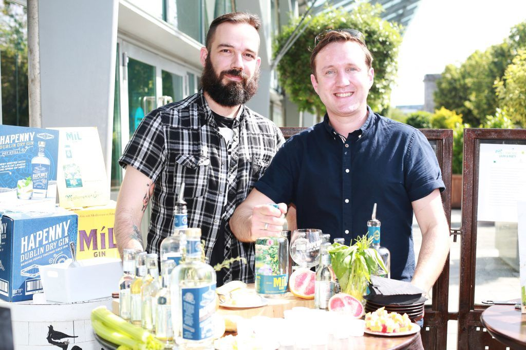 David Guerrero, Conor Ryan at the Gin and Tonic Fest 2018 launch at Urban Brewing (23rd June)