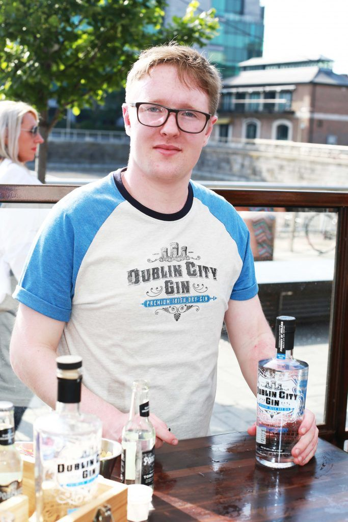 James O'Connor at the Gin and Tonic Fest 2018 launch at Urban Brewing (23rd June)