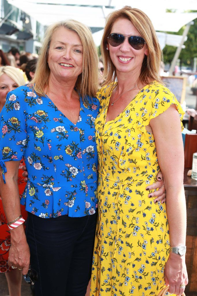 Julie Fairley, Melissa Whiting at the Gin and Tonic Fest 2018 launch at Urban Brewing (23rd June)