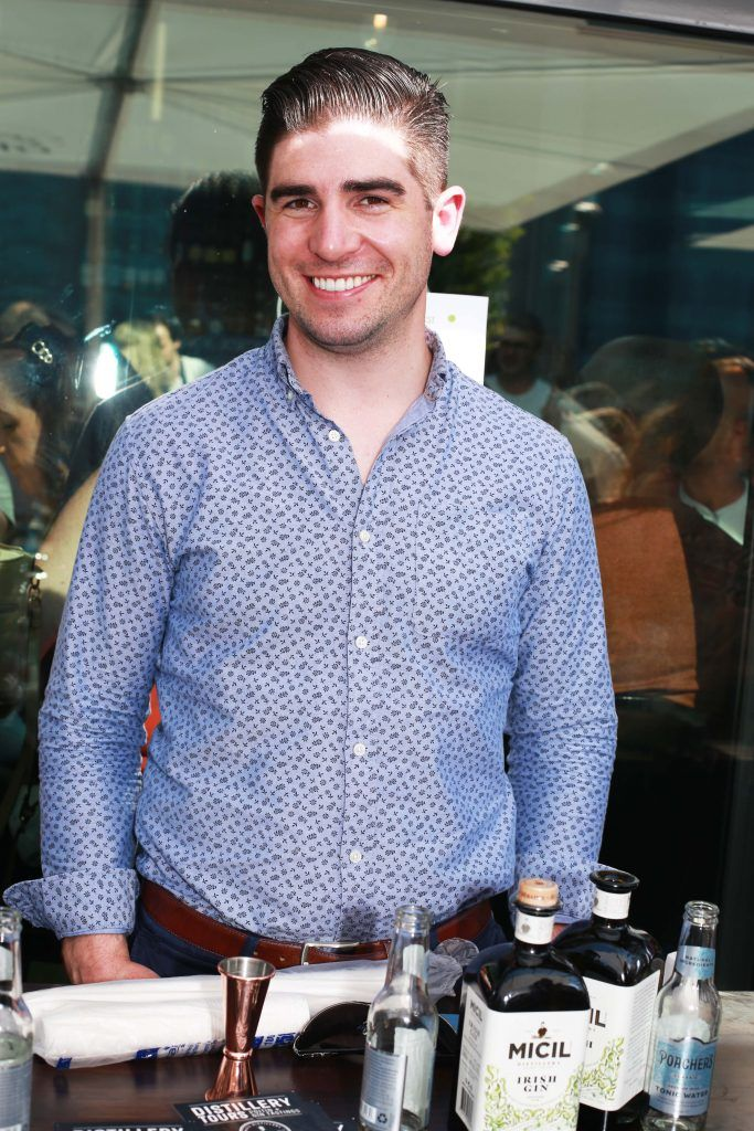 Padraic OGriallaig at the Gin and Tonic Fest 2018 launch at Urban Brewing (23rd June)