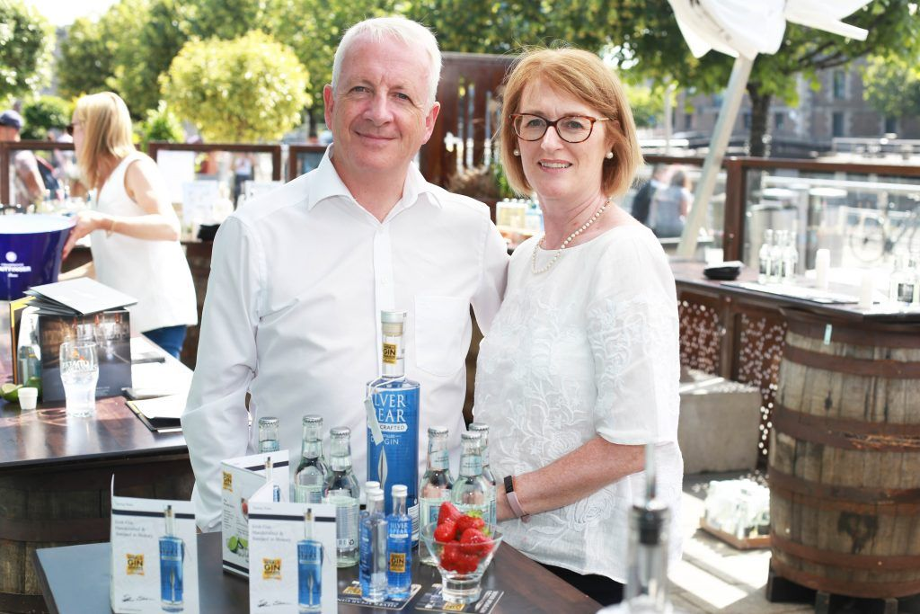 Pat Maher, Fiona Maher at the Gin and Tonic Fest 2018 launch at Urban Brewing (23rd June)