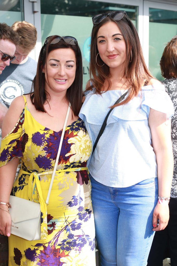 Rachel Pierce, Rebecca Whelan at the Gin and Tonic Fest 2018 launch at Urban Brewing (23rd June)