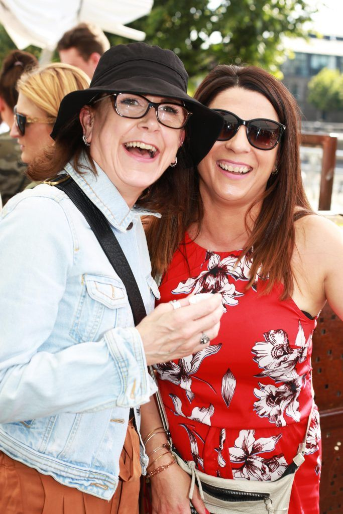 Martina Dunne, Angela Clarke at the Gin and Tonic Fest 2018 launch at Urban Brewing (23rd June)