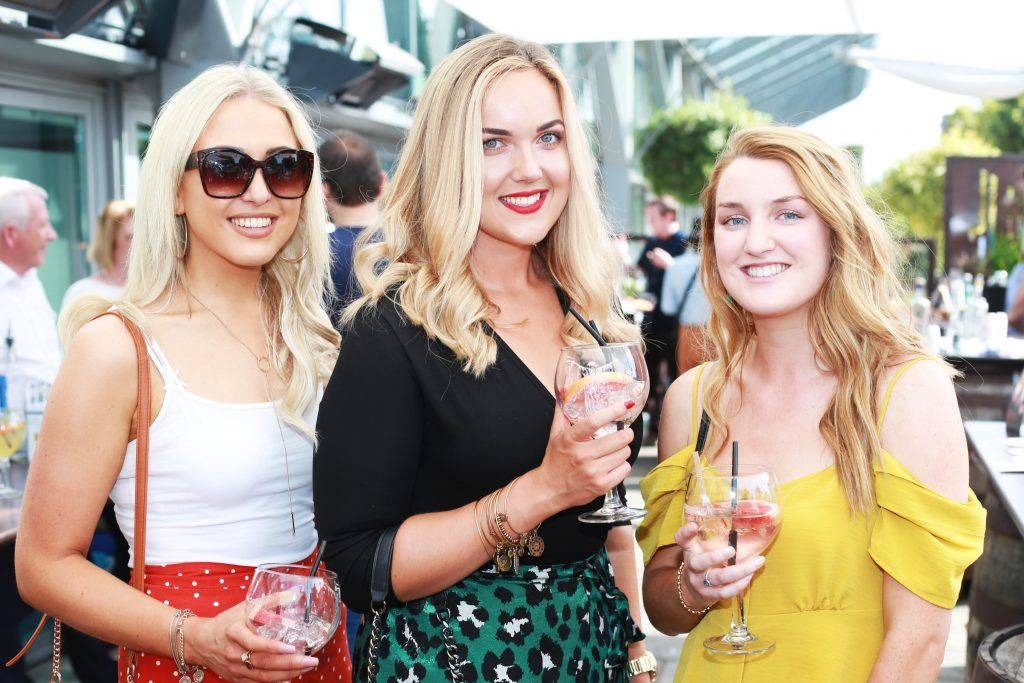 Meghan Dunne, Julia Daly, Cait Sweeney at the Gin and Tonic Fest 2018 launch at Urban Brewing (23rd June)