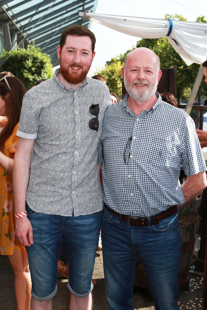 Padraic Noble, Gerry Noble at the Gin and Tonic Fest 2018 launch at Urban Brewing (23rd June)