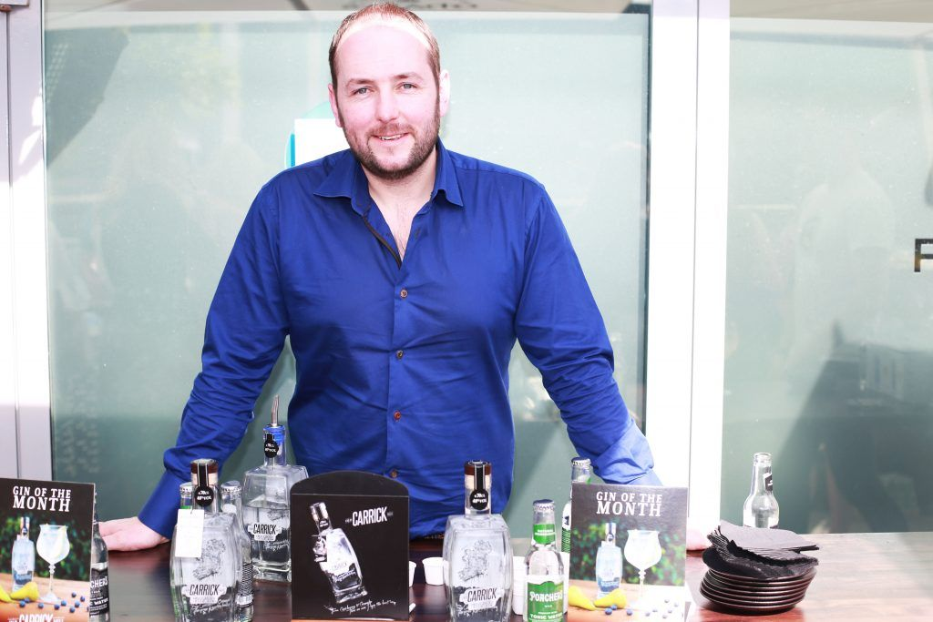 Stephen Murphy at the Gin and Tonic Fest 2018 launch at Urban Brewing (23rd June)