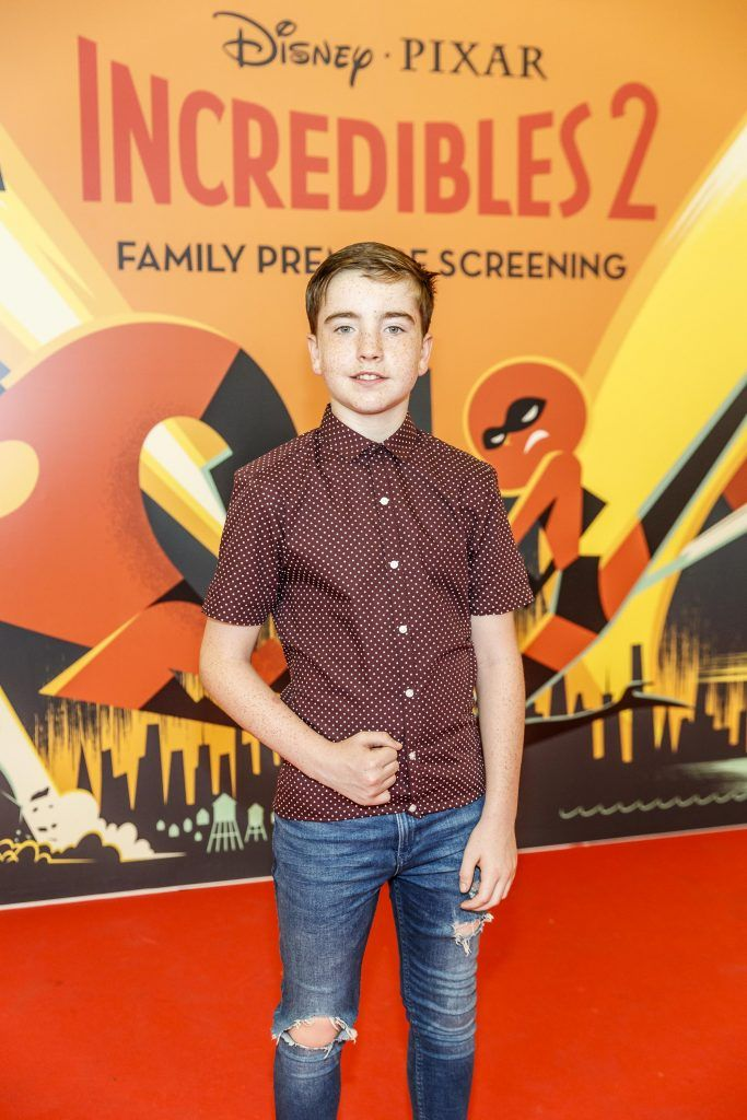 Nate (The Great) Kelly pictured at the special family preview screening of Incredibles 2 in ODEON Point Village. Picture Andres Poveda