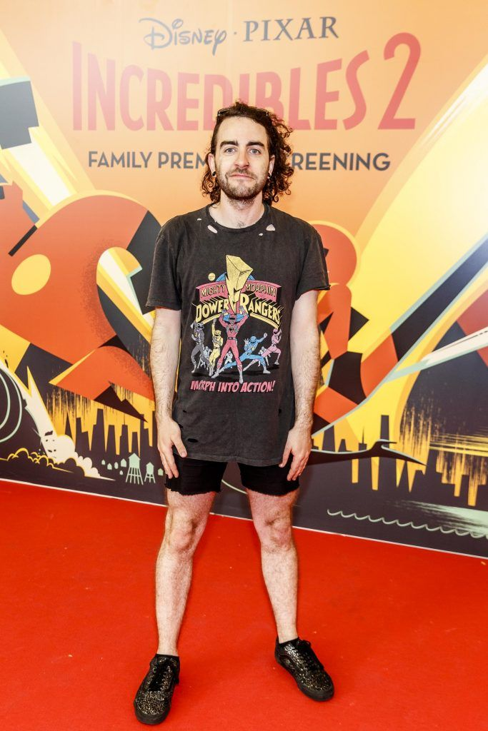 David Reilly pictured at the special family preview screening of Incredibles 2 in ODEON Point Village. Picture Andres Poveda