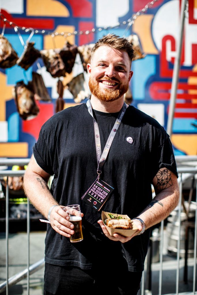Marcus O'Laoire pictured at GUINNESS X MEATOPIA at the Open Gate Brewery. Picture: Andres Poveda