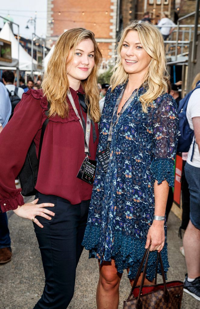 Eve Blake and Holly Blake pictured at GUINNESS X MEATOPIA at the Open Gate Brewery. Picture: Andres Poveda