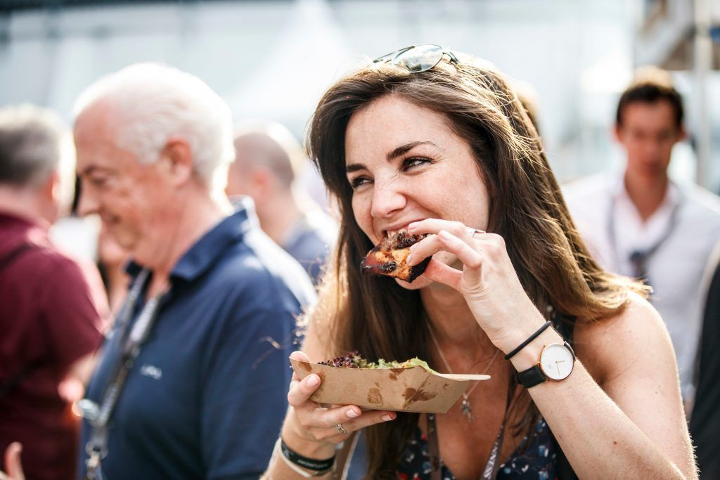 Niamh O Catain pictured at GUINNESS X MEATOPIA at the Open Gate Brewery. Picture: Andres Poveda