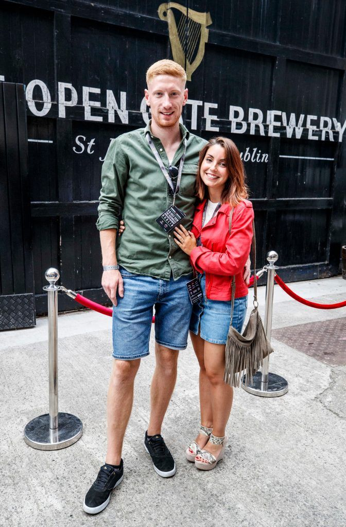 Geoff Loyde and Sara Gill-Fonz pictured at GUINNESS X MEATOPIA at the Open Gate Brewery. Picture: Andres Poveda