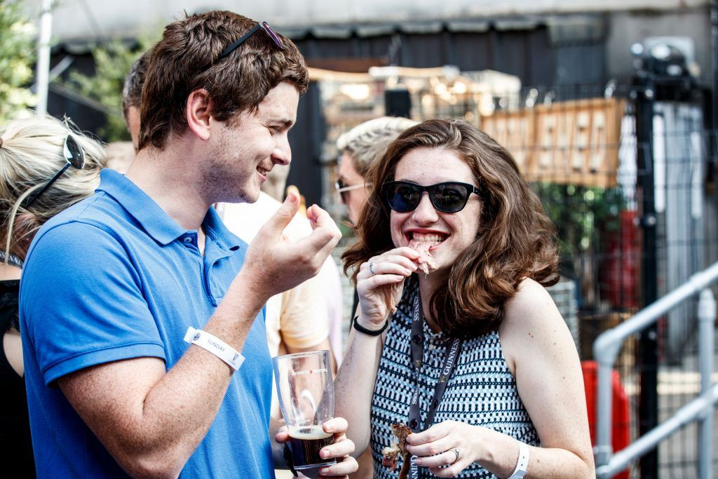 Amy Brown pictured at GUINNESS X MEATOPIA at the Open Gate Brewery. Picture: Andres Poveda