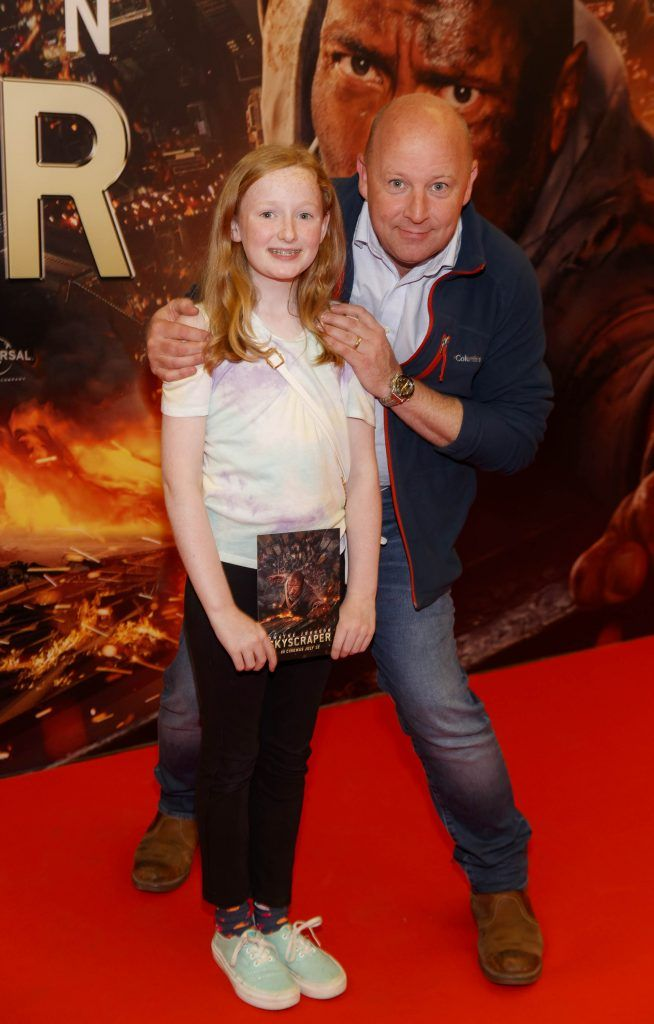Zoe and Steve Humphryes pictured at the Universal Pictures special preview screening of SKYSCRAPER, at Odeon Point Square, Dublin. Picture: Andres Poveda