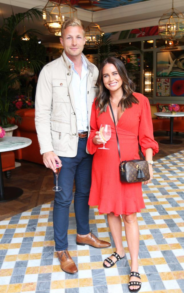Jodie and Will Matthews pictured at The Ivy Dawson Street's VIP Preview Evening on Monday, 16 July. Photo: Leon Farrell