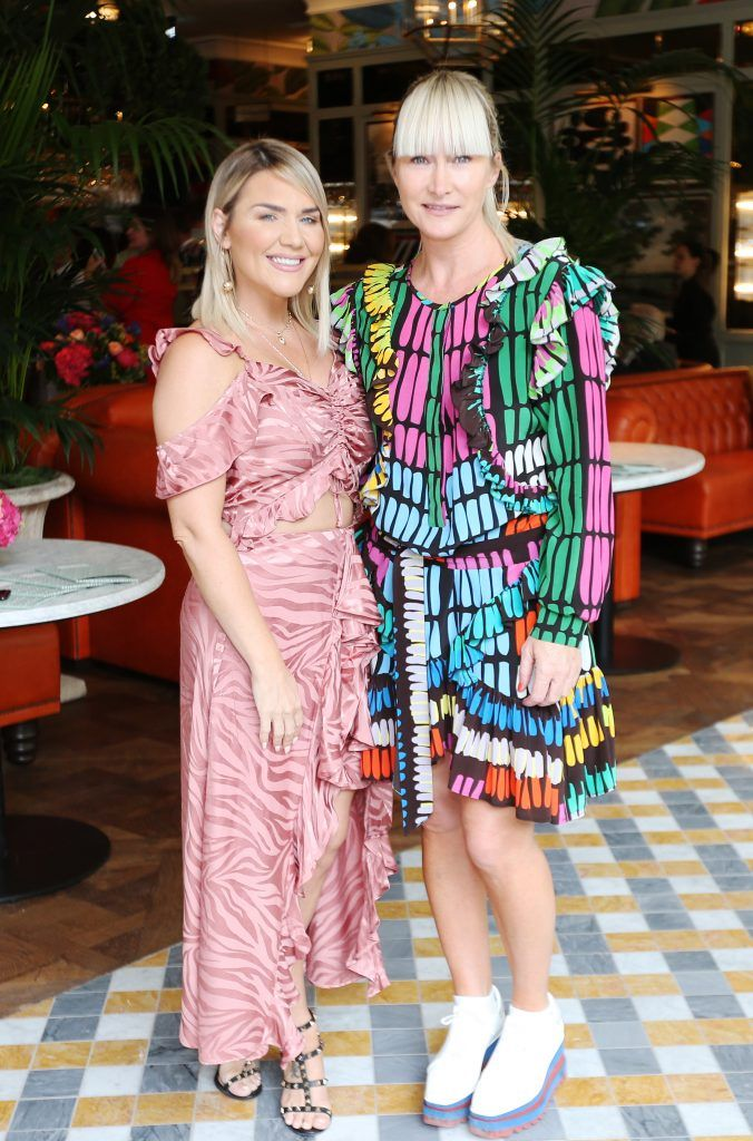 Erin McGregor and Helen Steele  pictured at The Ivy Dawson Street's VIP Preview Evening on Monday, 16 July. Photo: Leon Farrell