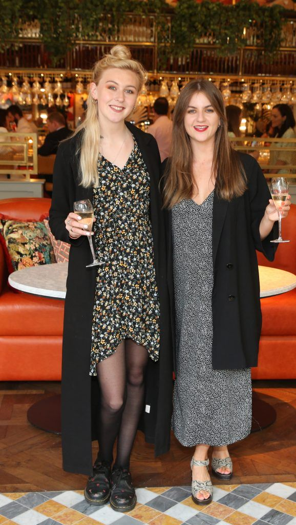 Fada Oin and Eadaoin Fitzmaurice  pictured at The Ivy Dawson Street's VIP Preview Evening on Monday, 16 July. Photo: Leon Farrell