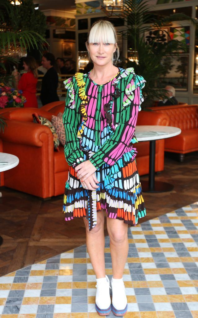 Helen Steele pictured at The Ivy Dawson Street's VIP Preview Evening on Monday, 16 July. Photo: Leon Farrell