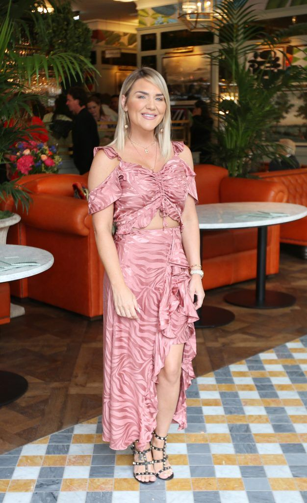 Erin McGregor pictured at The Ivy Dawson Street's VIP Preview Evening on Monday, 16 July. Photo: Leon Farrell