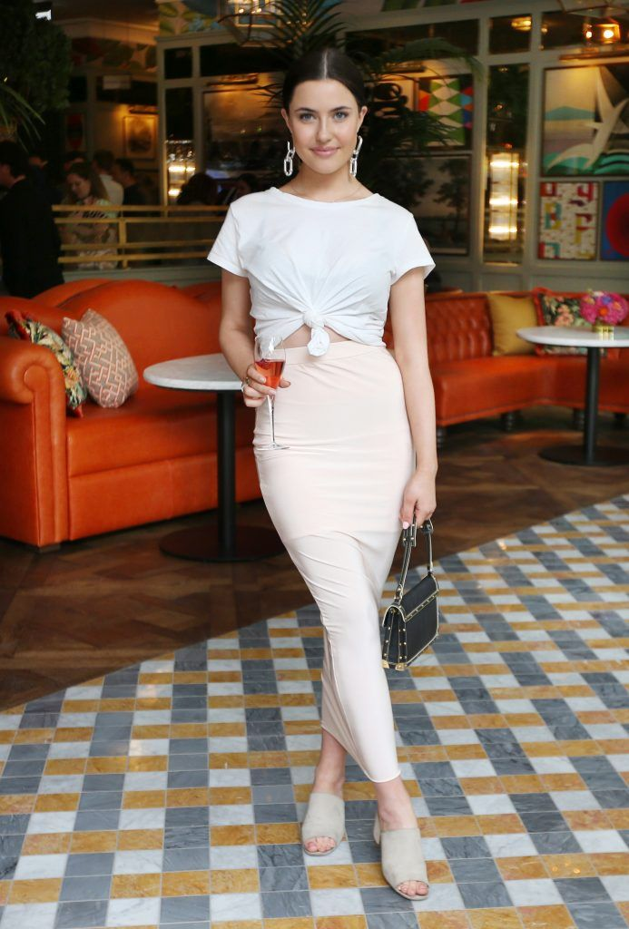 Babs Ryan pictured at The Ivy Dawson Street's VIP Preview Evening on Monday, 16 July. Photo: Leon Farrell