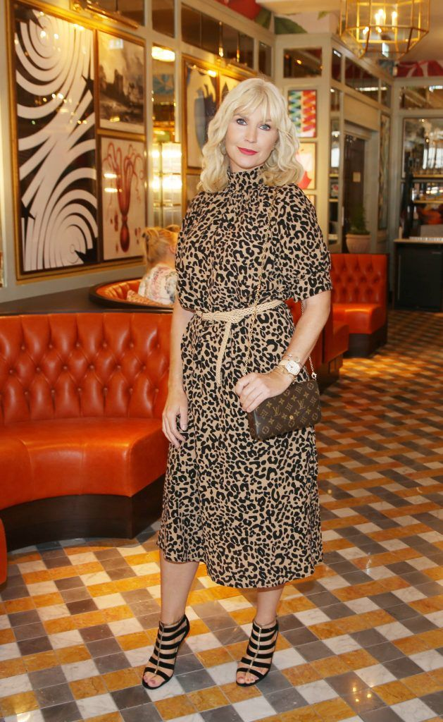 Yvonne Connolly pictured atThe Ivy Dawson Street's VIP Preview Evening on Monday, 16 July. Photo: Leon Farrell