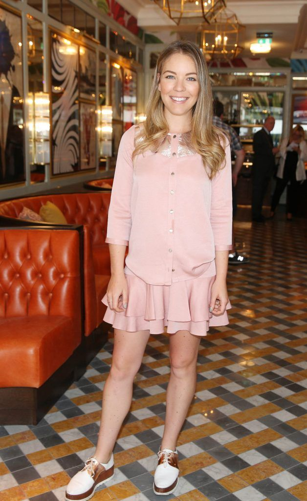 Emma Manly pictured at The Ivy Dawson Street's VIP Preview Evening on Monday, 16 July. Photo: Leon Farrell