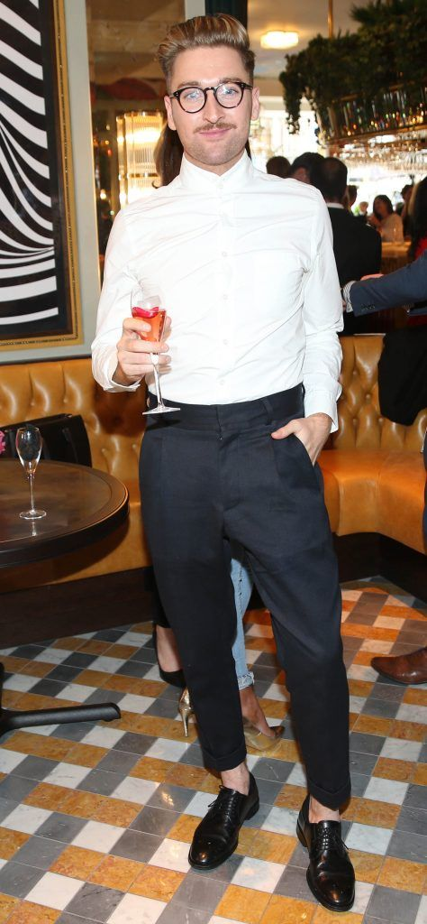 Rob Kenny pictured at The Ivy Dawson Street's VIP Preview Evening on Monday, 16 July. Photo: Leon Farrell