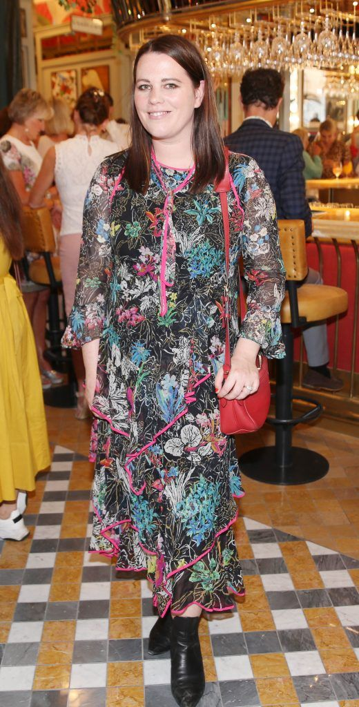 Corina Gaffy pictured at The Ivy Dawson Street's VIP Preview Evening on Monday, 16 July. Photo: Leon Farrell
