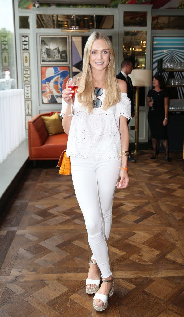 Jude Gilroy pictured at The Ivy Dawson Street's VIP Preview Evening on Monday, 16 July. Photo: Leon Farrell