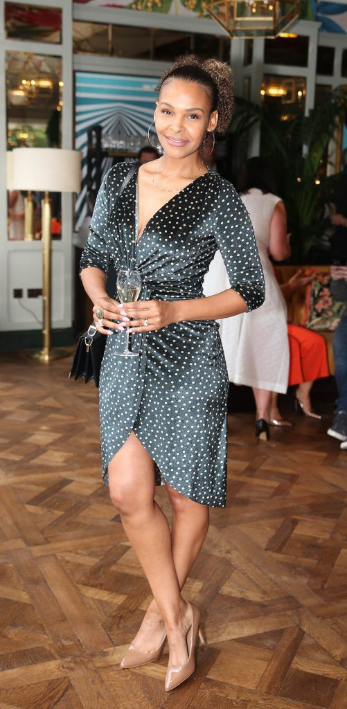 Samantha Mumba  pictured at The Ivy Dawson Street's VIP Preview Evening on Monday, 16 July. Photo: Leon Farrell